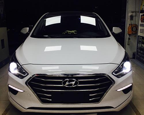 北京现代名图新款车灯升级