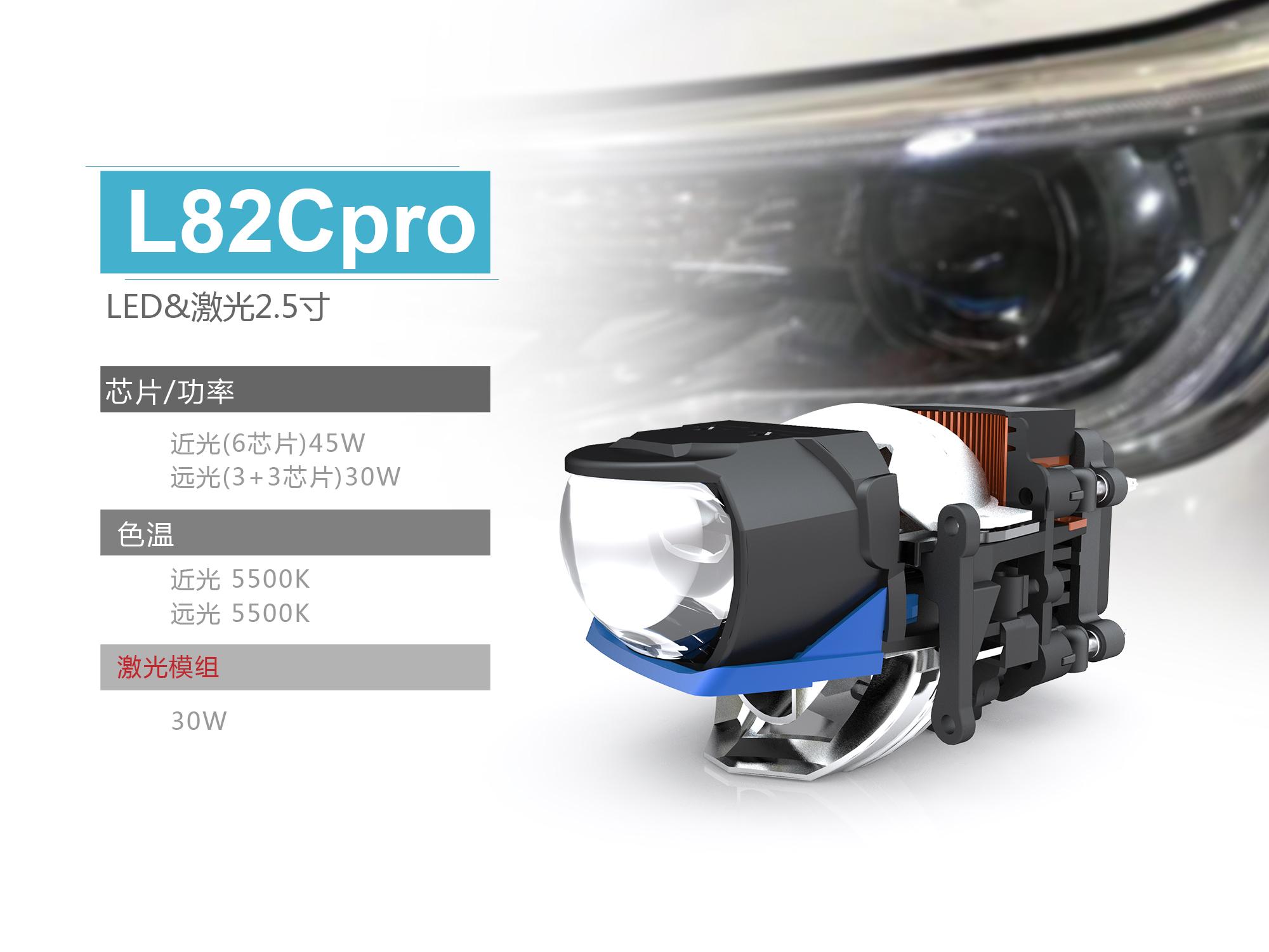 恒威激光大灯L82pro